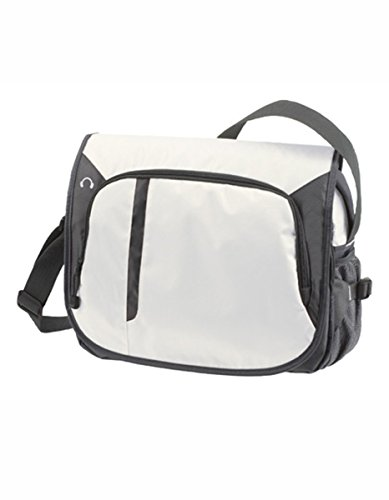 Halfar , Borsa Messenger  Verde apple green 38 x 29 x 9 cm bianco