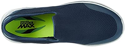 Skechers Men's Go Walk 4 Low-Top Sneakers, Black (Bbk), US