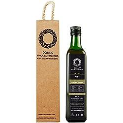 Domus Finca La Trastada Aceite de Oliva Virgen Extra, Variedad Picual - 500 ml