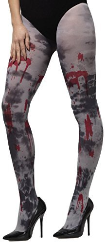 Damen grau blickdicht Toter Zombie Dirty Bloody Halloween Kostüm Kleid Outfit - Halloween-outfits Zombie