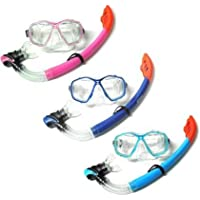 Two Bare Feet - Mask and Snorkel ADULT SET - by MIKES DIVING