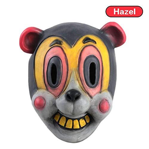 en Party Cosplay Kostüm Dekoration Cha Cha Maske Halloween Cosplay Helm für Herren und Damen Masken ()
