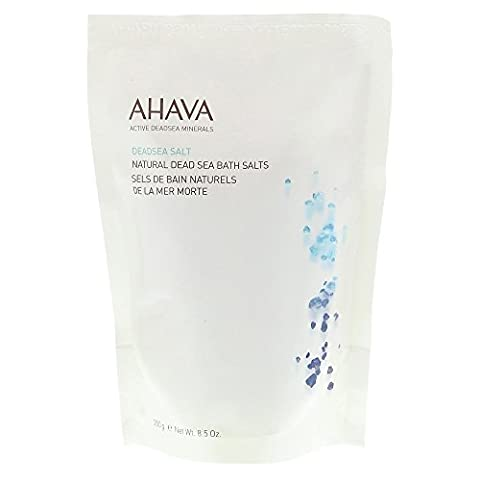 AHAVA 100% PURE NATURAL DEADSEA BATH SALTS HOME & SPA MINERAL-RICH BATH 250GR