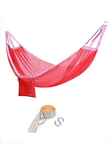 Engrener Anti-retournement unique hamac de plein air Balançoire adulte enfant intérieur hamac 190 * 125cm ( Couleur : 4 )