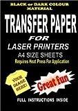 &impression Laser copieur T-Shirt en tissu &de Papier transfert pour tissus f...