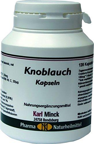 Karl Minck Knoblauch Kapseln