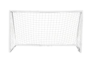 Debut Kids' PVC Goal - White, 8 x 4 Feet
