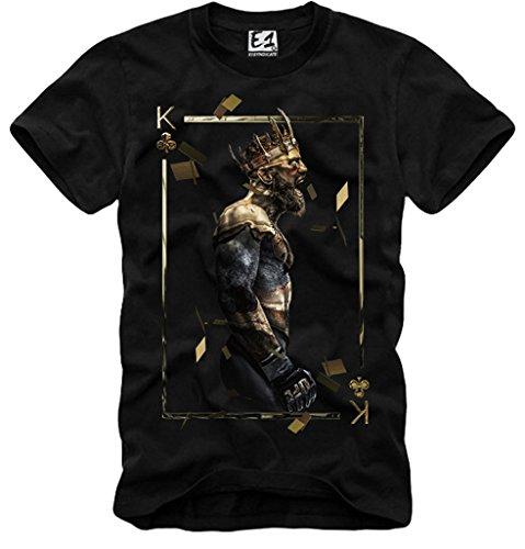 0d57589d E1Syndicate T Shirt Conor McGregor UFC MMA Champion BELLATOR Black