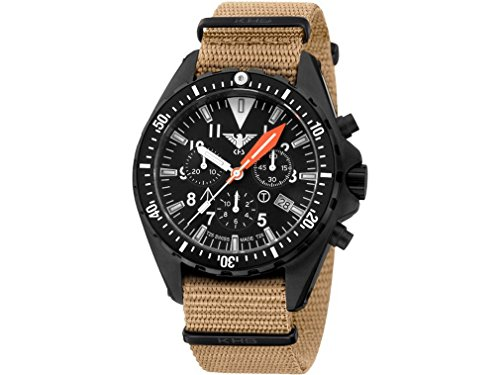 KHS Mens Watch MissionTimer 3 Field Chronograph KHS.MTAFC.NT
