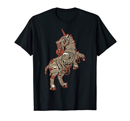 Kostüm Zombie Einhorn - Einhorn Kürbis Zombie Mama Mummicorn Halloween Kostüme T-Shirt