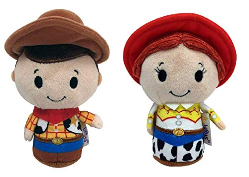 Toy Story Itty Bitty Woody and Jessie Set of 2 Soft Toys