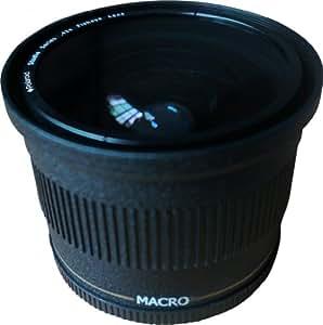 Polaroid Studio Series Objectif fisheye haute définition.42x 72 mm avec fixation macro, inclut une housse d'objectif et les couvercles d'objectifs