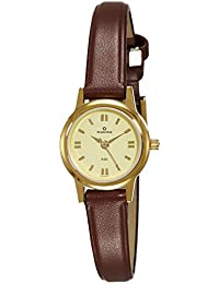 Maxima Analog Gold Dial Unisex Watch-32201LMLY