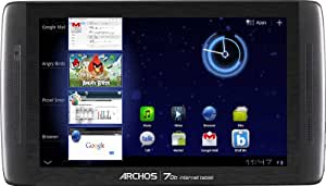 Archos Internet 70b 8GB Black - tablets (IEEE 802.11n, Android, Slate, Android, Black, Lithium Polymer (LiPo))
