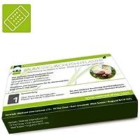 Wellnest Baumessig, Turmalin Detox Wohlfühlpflaster (20 Pads zum Aufkleben auf die Füße) inkl. Klebepflaster preisvergleich bei billige-tabletten.eu
