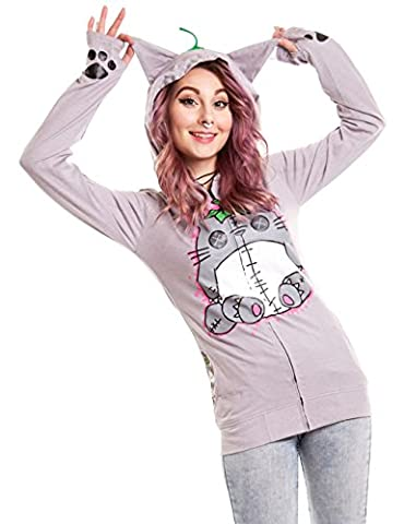 Sweat Totoro - Cupcake Cult Voodoo Friend Veste à Capuche