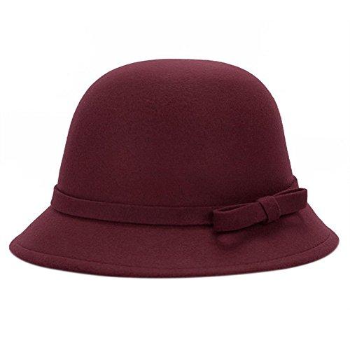 LeisialTM Sombrero Elegante Arco Algodón Más Caliente