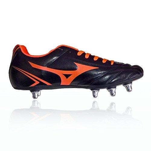 MIZUNO MONARCIDA RUGBY SI R1GA177054 -Scarpe da rugby uomo nero-arancio Nero