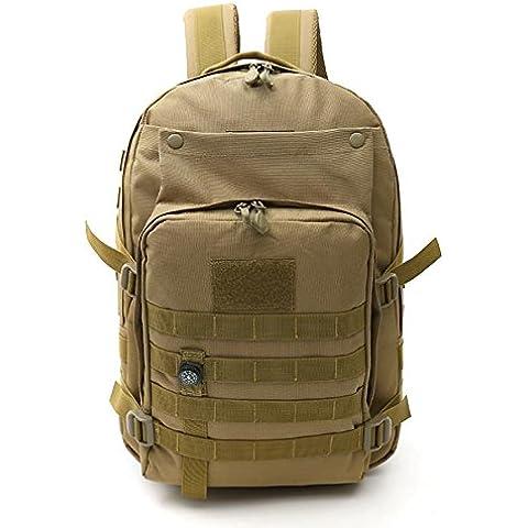 Zaino alpinismo multifunzionale borsa esterna mimetica zaino turismo sport impermeabile 32 * 17 * 44 cm , 4