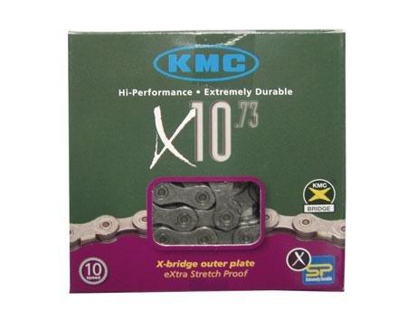 Gear-Shift Chain KMC X-10 Grey-Grey 114 Links 10 Speed 5.9