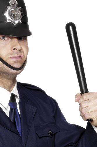 Smiffy'S 23918 Porra De Policía Gritón, Negro