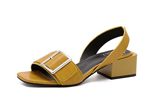 pump-4cm-chunkly-heel-open-toe-slingback-metal-belt-buckle-sandals-lady-simple-hollow-dorsay-ankle-s