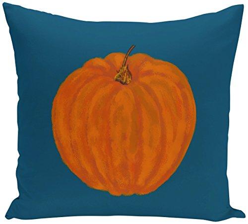 E von Design o5phn331bl11–1640,6x 40,6cm Li 'l Kürbis Urlaub Print orange Outdoor ()