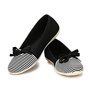 Alexa Bella Black Belly Shoes / Bellies