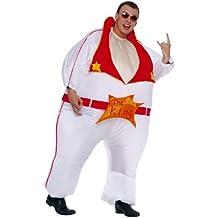 César - Disfraz hinchable de Elvis Presley para hombre (adulto), talla única