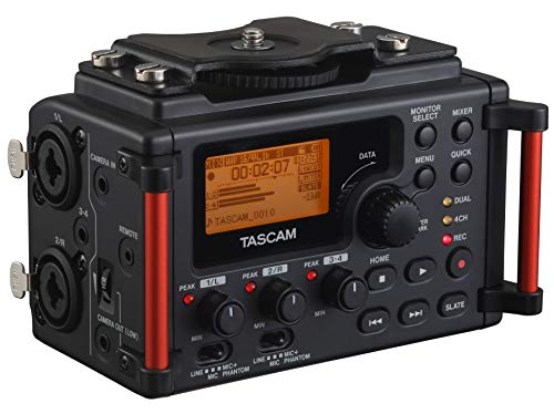 Tascam dr-60dmk2 DSLR Recorder Audio