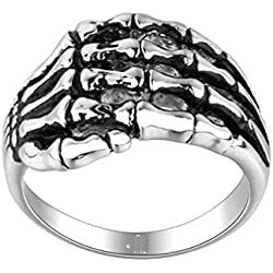 Sorella'Z Alloy Metal Silver Tone Ring For Men