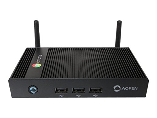 Aopen Chromebox Mini 16GB WLAN Schwarz Digitaler Mediaplayer