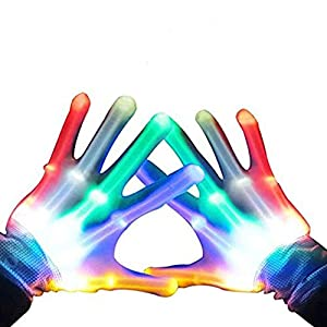 TOP Gift LED Flashing Gloves - Novelty Toys - Best Gifts