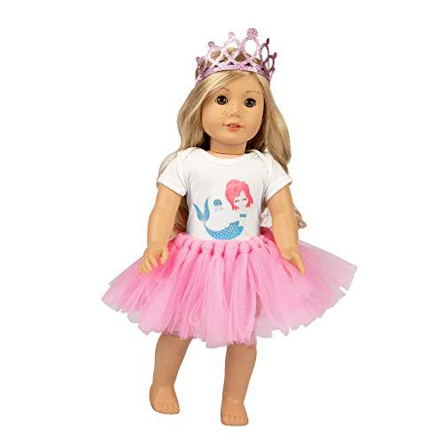 18 Zoll Puppenzubehör Spielzeug Süß Tutu Rock Kleider Mantel Mädchen  Spielzeug  Für Grils (übung Spiel Für Die Ps4)