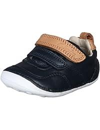 Clarks Tiny Aspire Navy Leather