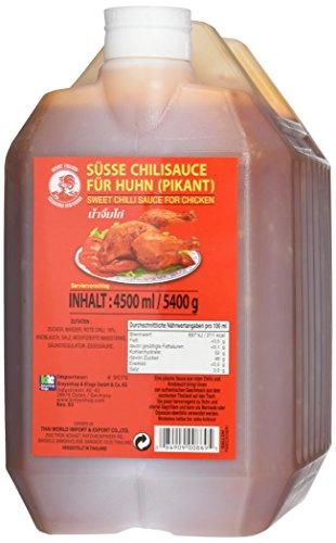 COCK Süße Chilisauce für Huhn, 1er Pack (1 x 4.5 l)