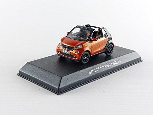 Norev- Miniature Voiture de Collection, 351422, Orange/Noir