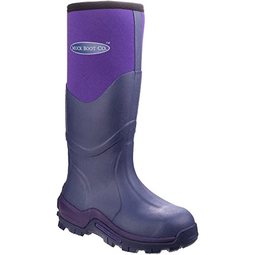 The Muck Boot Company Greta Violet, Ideal for muddy fields Violet