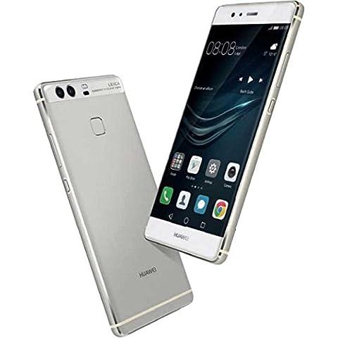 Huawei P9 Smartphone portable débloqué 4G (Ecran: 5,2 pouces - 32 Go - Double Nano-SIM - Android) Argent