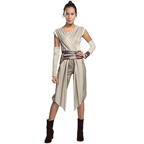 Rey Kostüm Damen Star Wars Damenkostüm L 44/46 Jedi Faschingskostüm Erwachsene Starwars Verkleidung Frauen Fantasy Karnevalskostüm Larp (Wookie Jedi Kostüm)