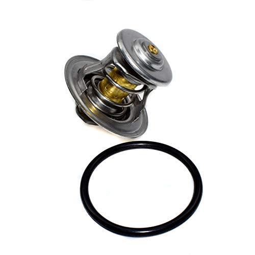 Kühlmittel 87 ° + Ring 044121113 New Thermostat für Beetle Passat Golf 2.0l 1.8L 1991-2006