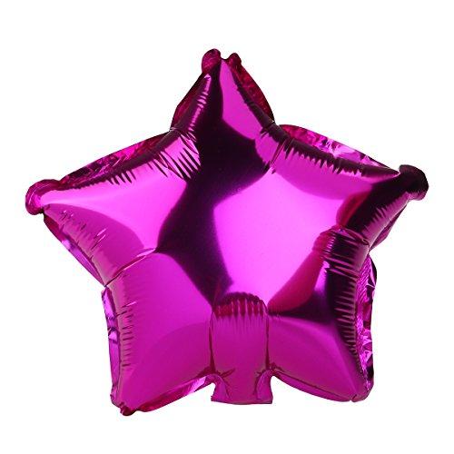 Luftballons Ballon Fünfzackigen Stern Folienballons Zufällige Farbe 8ST - 3