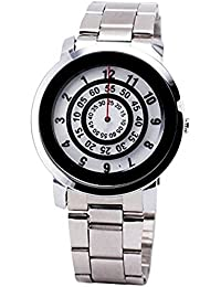 Arric Watches White Dial Stainless Steel Men's Fashion Wrist Watch 0097