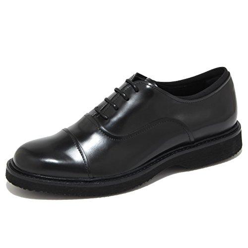 4474N scarpa classica HOGAN H217 ROUTE francesina uomo shoes men nero Nero