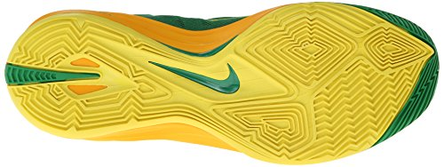 Nike - Hyperdunk 2014, Scarpe Da Basket da uomo Lucky Green/Sonic Yellow/University
