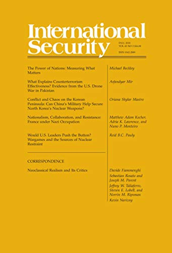 International Security 43:2 (Fall 2018) (English Edition)