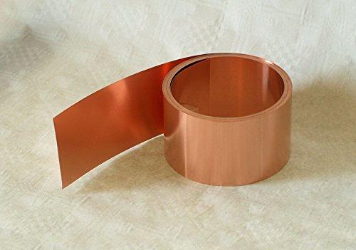 Kupferband, 0,1 mm x 40 mm, 5 m Rolle