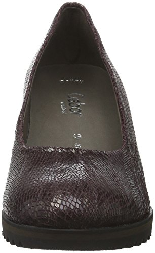 Gabor Comfort Fashion, Escarpins Femme Rouge (Dark-Merlot 24)