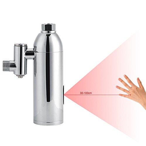 GOTOTOP Badezimmer-Urinalspüler mit Infrarot-Sensor, automatischer Sensor, Messing, Wandmontage