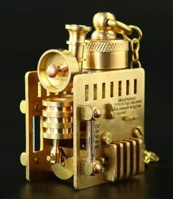 6,5 * 3,8 * 4 cm ure handmade140g Messing Handwerk Steampunk-Ära Feuerzeuge